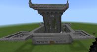 Un castillo medieval algo futurista...