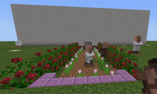 Ambientando una entrada a la casa con flores