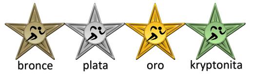 medallas EF